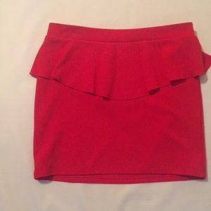 Women's/Junior's Burnt Orange Skirt